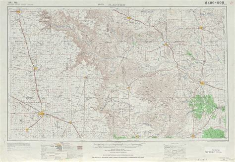 plainview texas map plainview topographic maps tx usgs topo 34100a1 at 1 250 000 scale