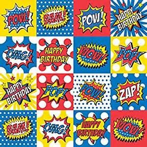 amazon com bam pow zap comic superhero theme 24 quot x 16