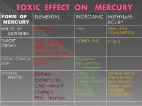 mercury toxicity amp hygiene