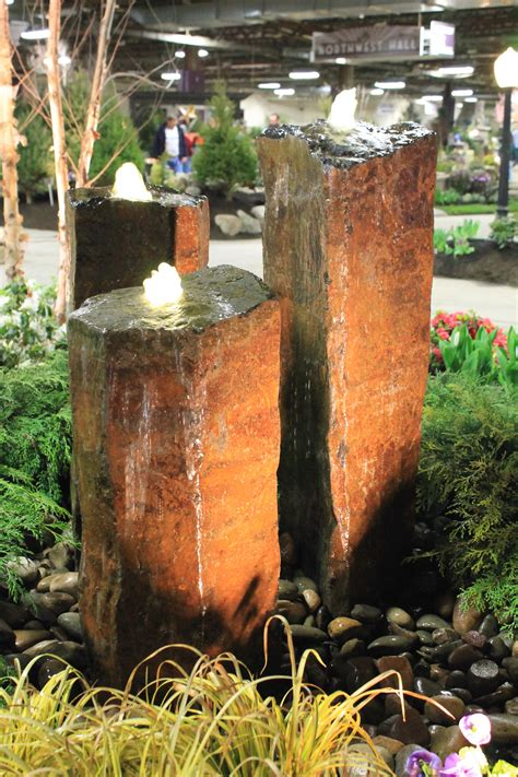 Pavilions Fairies And Rock Fountains Garden Housecalls Rock Fountains For Garden