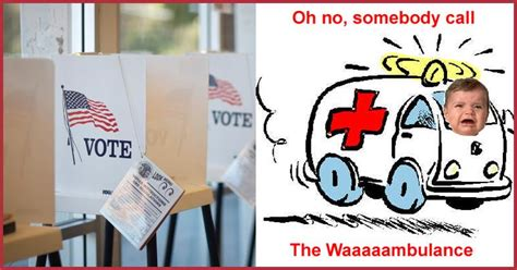 Wambulance Meme - new hshire primary to require voter ids the