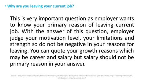 Best Answer For Leaving A On Application How To Answer Why Are You Leaving Your Current Employer