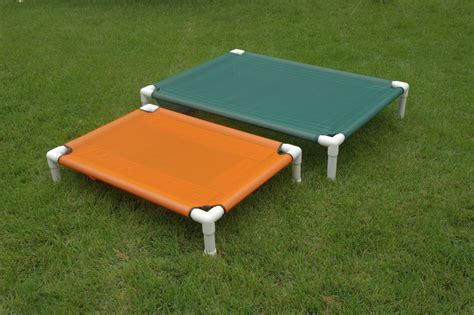 dog cot bed raised bed large orthopedic dog bed pvc cot outside bed