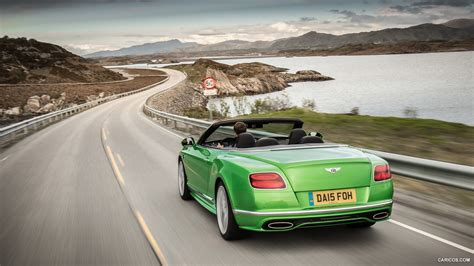 green bentley convertible 2016 bentley continental gt speed convertible apple green