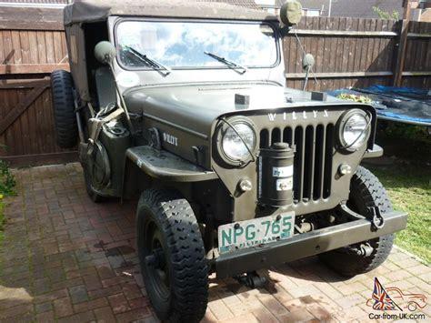 Cj3 Jeep Willys Cj3 Jeep 1952
