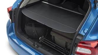 Retractable Tonneau Covers Australia 2017 Subaru Impreza Retractable Tonneau Cargo Cover Black