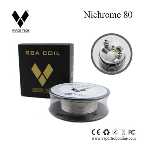 Vaportech Kanthal Wire Nichrome 80 10m factory price buy vapor tech nichrome 80 resistance wire vaping underground forums an ecig