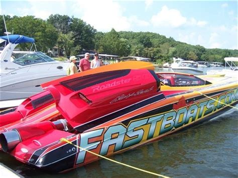 used boat parts lake of the ozarks powerboat at lake of the ozarks annual shootout boat race