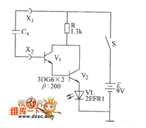 measure capacitor on pcb capacitor measuring circuit diagram measuring and test