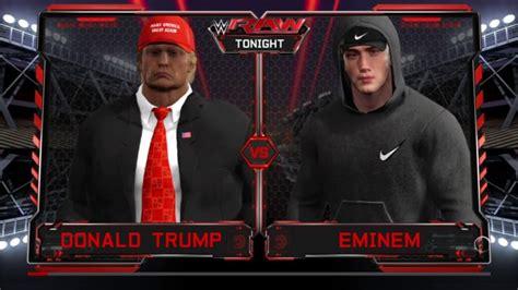 eminem vs trump epic diss the sword