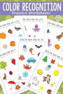 color recognition color recognition printables