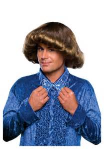 prom hair style of the 70 s mens 70s prom wig
