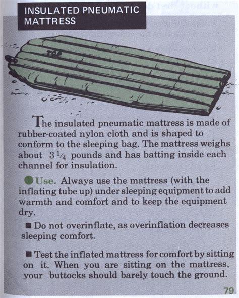 Pneumatic Mattress by Insulated Pneumatic Mattress Cie Hub