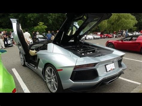 lamborghini aventador sv roadster 458 speciale start up launch control fast acceleration lamborghini aventador roadster start up revs acceleration in vancouver youtube
