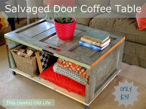 Door Coffee Table Diy Cleaning