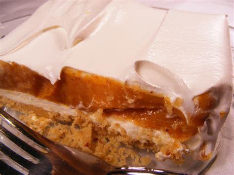 light pumpkin dessert recipes 4 layer pumpkin dessert recipe genius kitchen