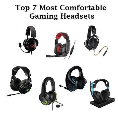 most comfortable gaming headphones top 7 most comfortable gaming headsets you ll love all the