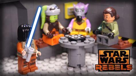 wars rebels lego lego wars rebels brickfilm ezra s lightsaber