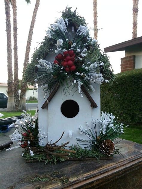 78 best images about christmas birdhouses on pinterest