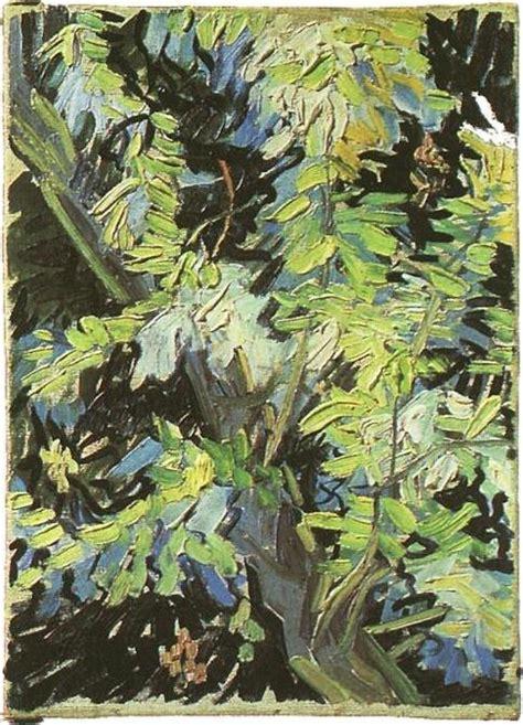acacia in fiore rami di acacia in fiore vincent gogh il giardino