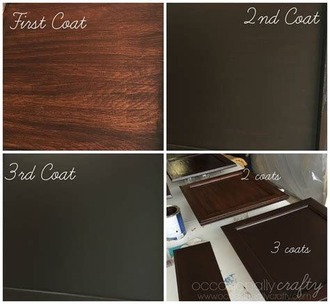 How Much To Stain Kitchen Cabinets transform your golden oak cabinets with java gel stain