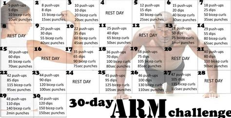 the 30 day arm challenge the the right way to a