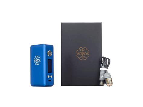 Dotbox 75 Blue Authentic dotmod dotbox 75w tc box mod vape society supply