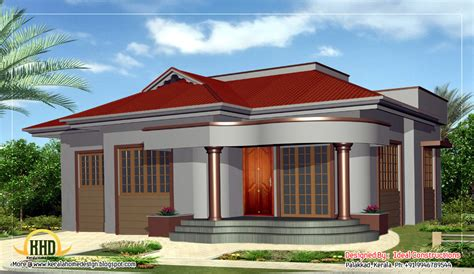 beautiful single story home design 1100 sq ft kerala