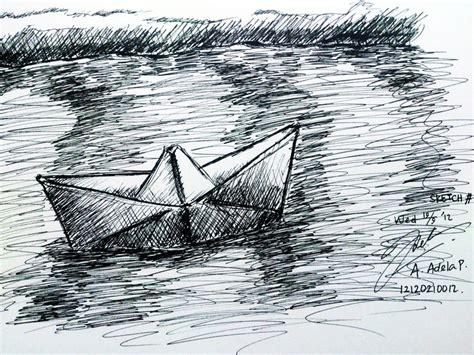 Kertas Sketchbook Sketch 7 Perahu Kertas Paper Boat By Adela1015 On