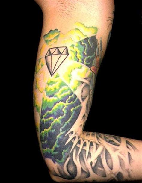 diamond tattoo elbow 29 sparkling diamond tattoo designs