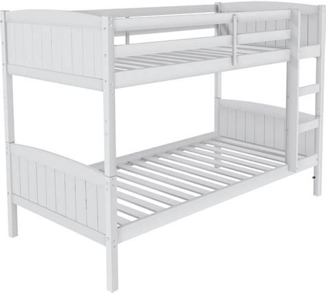 argos bunk beds with mattress buy home detachable bunk bed with mattress white at
