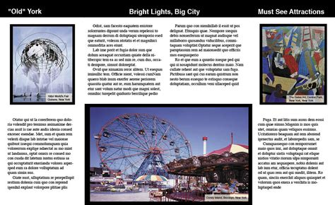 brochure templates new york travel brochure of new york renanlopes me
