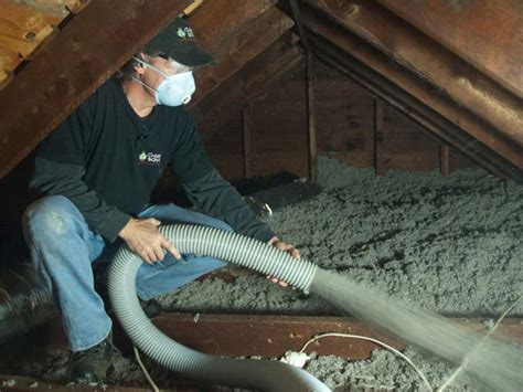 blown in insulation in attic insulation types for attics images
