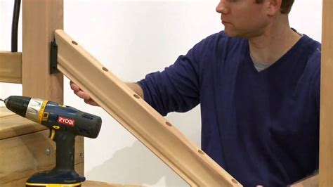 Installing A Stair Banister by How To Install A Rail Simple Tuscany Stair Railing Kit