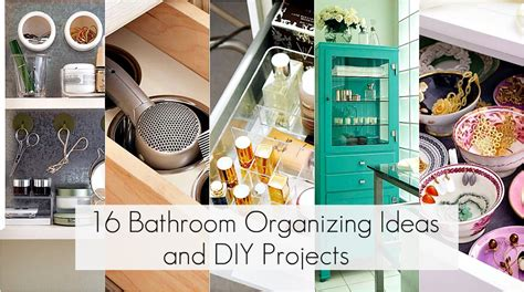organizing your bathroom ideas to organize every area in your home