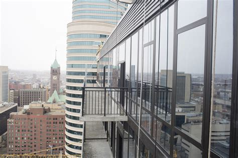 Minneapolis Apartment Building A View From The Nic On Fifth A New Apartment Building In