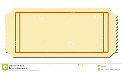 Blank Raffle Ticket It Resume Cover Letter Sle Blank Raffle Ticket Template