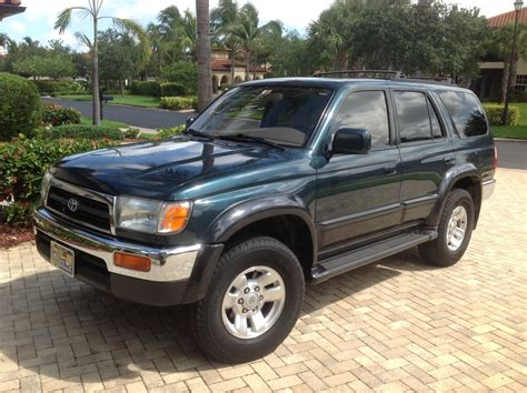 1997 Toyota 4runner Limited 1997 Toyota 4runner Overview Cargurus