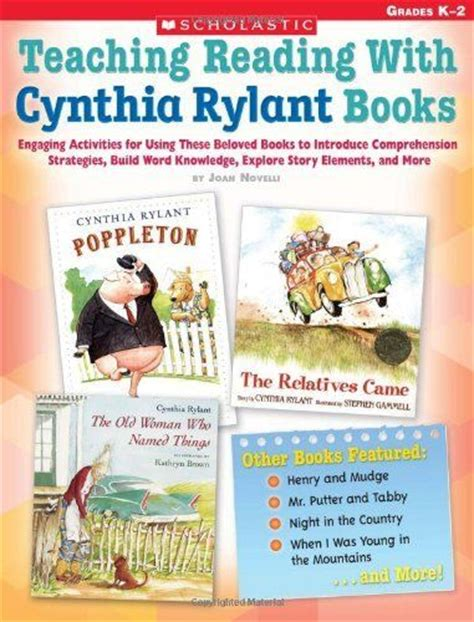 teaching plot with picture books 1000 images about cynthia rylant on author