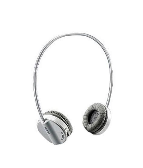Headset Bluetooth Rapoo rapoo bluetooth stereo headset h6020 grey buy rapoo bluetooth stereo headset h6020 grey