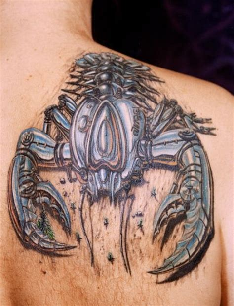 best tattoo designs 3d japan best 3d scorpion tattoos