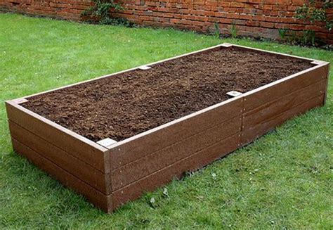 plastic raised garden beds recycled plastic planters and raised beds
