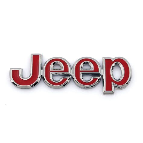Auto Decals And Emblems by 3d Car Auto Emblem Badge Sticker Decal Metal Jeep D Ebay
