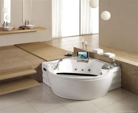 bathtub massage luxury massage bathtub with tv dvd icebox china