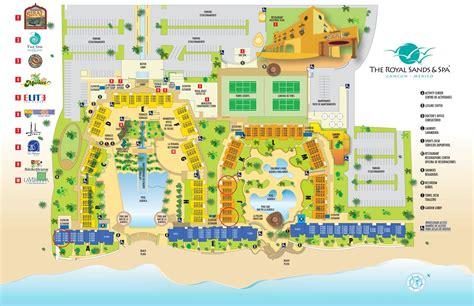 sands resort map royal sands cancun resort rentals