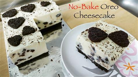 Oreo Cotton Cheesecake no bake oreo cheesecake in