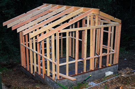 Shed Roof Frame by The Goat Shed Part Ii Curbstone Valley