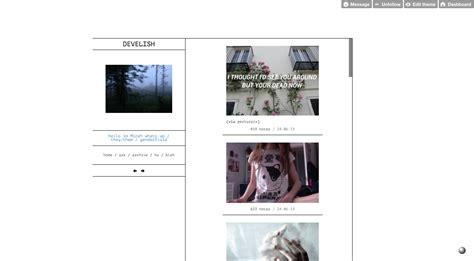 personal blog themes tumblr themes