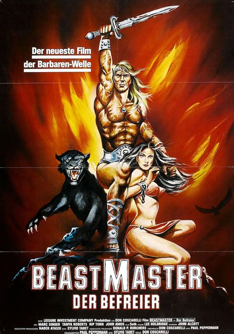 The Beast Master poster for the beastmaster 1982 usa germany wrong