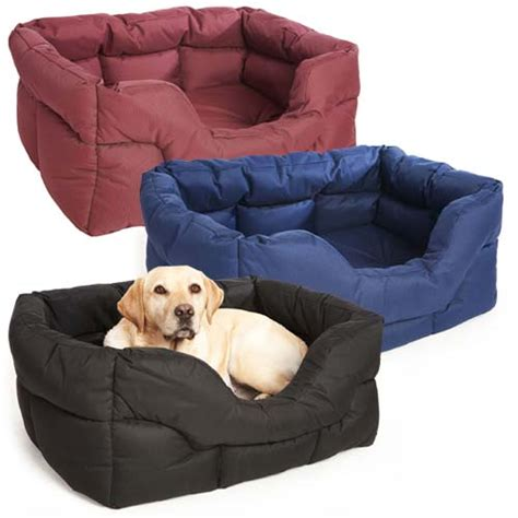 waterproof pet bed p l country dog waterproof dog bed rectangular